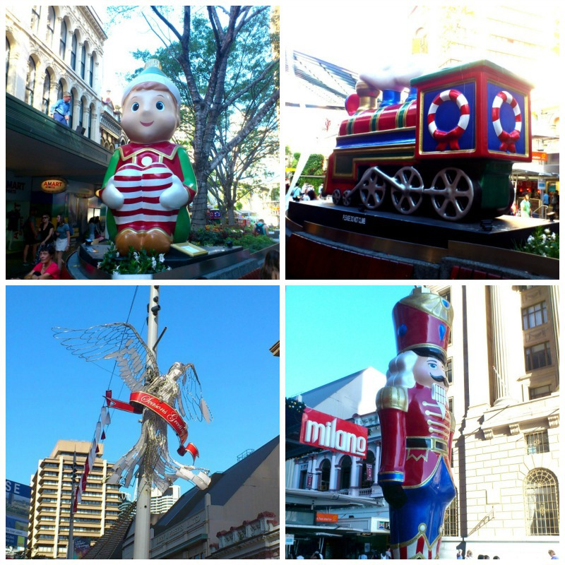 Myer Christmas Windows And Queen Street Mall Activities