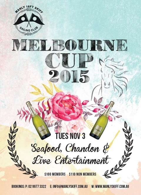 Melbourne Cup Day Lunches Northern Beaches, Manly 16ft Skiff Club