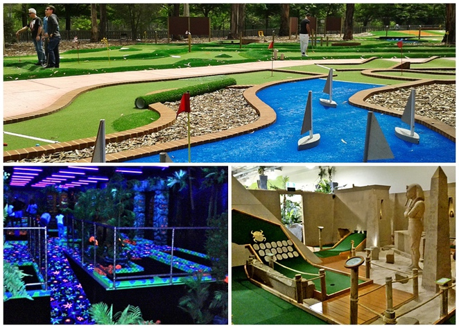 mini golf, canberra, ACT, teenage birthday parties, ACT, teenagers,