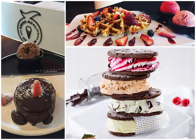 movenpick, kingston foreshore, canberra, ACT, ice creameries, dessert cafe,