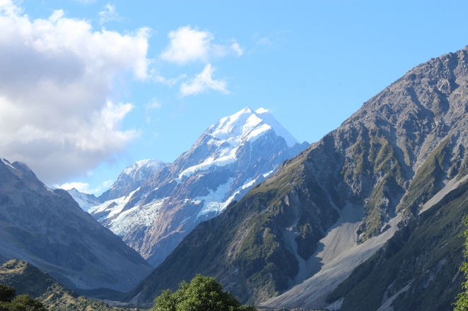 Mueller Hut, Mount Cook, New Zealand, Hike, Walk
