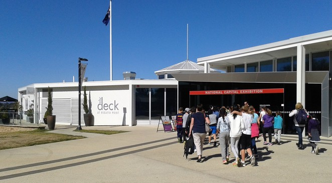 national capital exhibition, canberra, regatta point, free, the deck, commonwelath park, things to do,