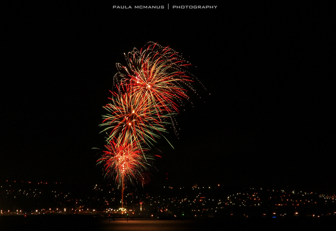 New Years Eve fireworks at Glenelg
