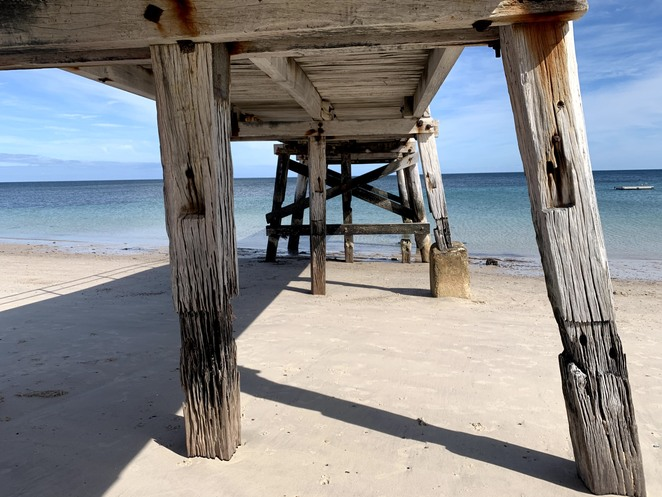 Normanville Jetty, Normanville, Carricaklinga, Beach