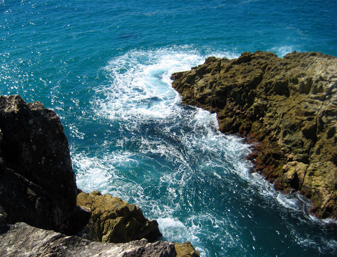The gorges walk at Point Lookout is a popular and relaxing activity on North Stradbroke Island