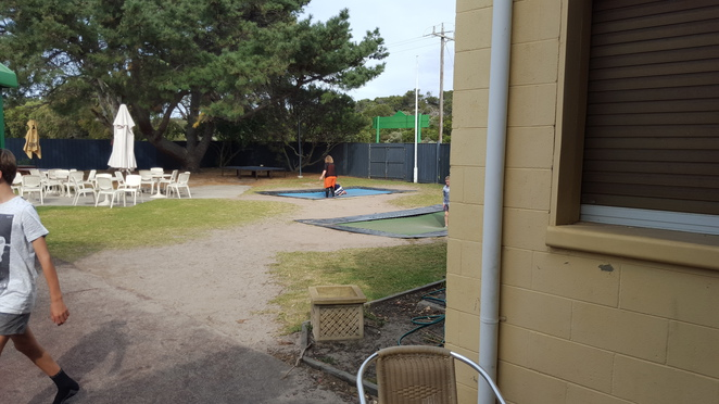 Part of the Outdoor Area, Ocean Grove Hotel