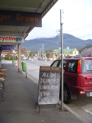 Ginger Brown South Hobart