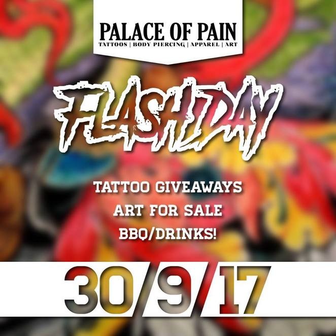 Palace of Pain's September Flash Day