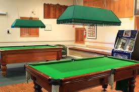 Pool tables at White Eagle House