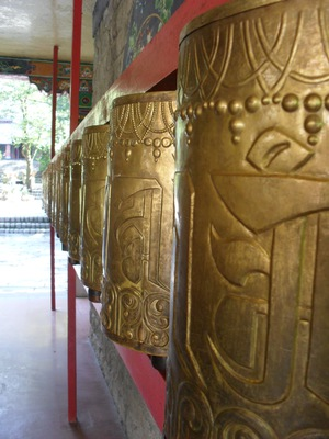 Prayer Wheels, Norbulingka Institute, Dharamsala