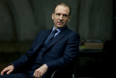 Ralph Fiennes making his mark in Skyfall