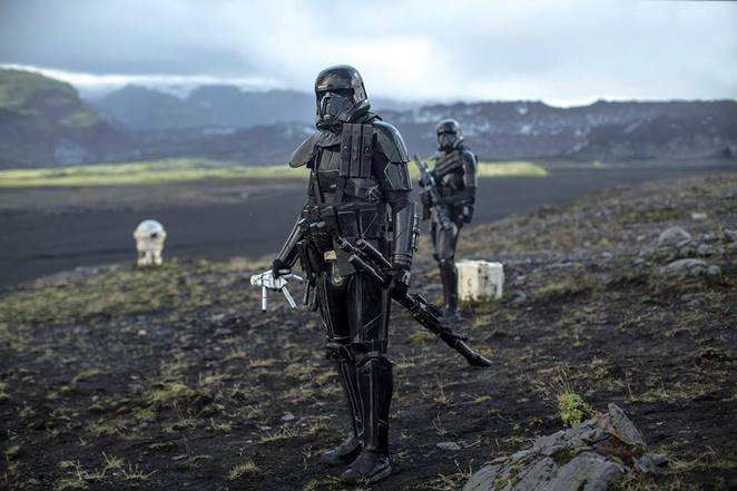 Death Troopers in Rogue One: A Star Wars Story