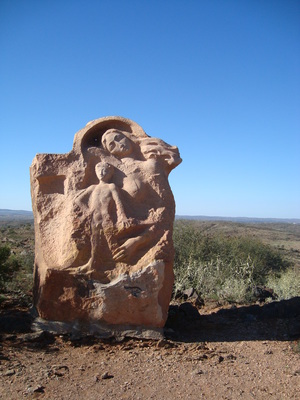 Sculptures in the Outback
