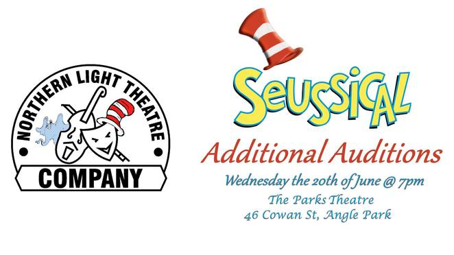 Seussical Northern Light Theatre Company Auditions October 2018