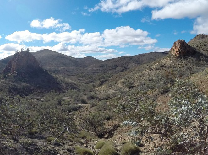 Sitting Bull, Pinnacles, Arkaroola