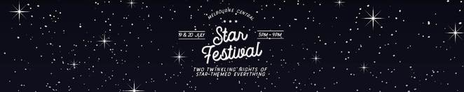 star festival, free, event, shopping, melbourne central, stars, food, starsign reading