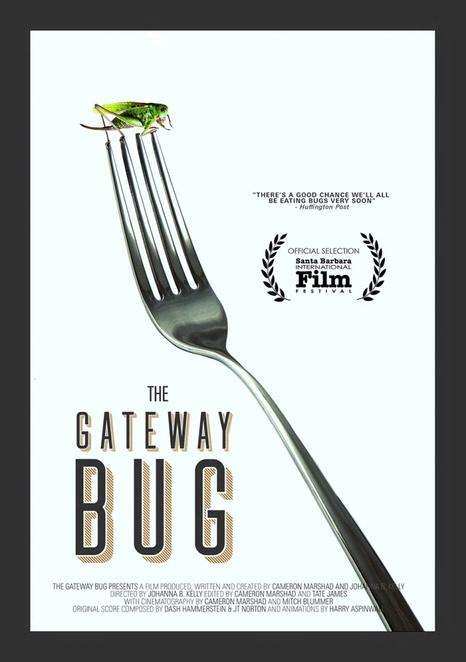 the gateway bug, community event, fun things to do, night life, cinema, date night, environmental awareness, transitions film festival 2018, cinema jova, johanna kelly, cameron marshad, andrew zimmern, pat crowley, insect for food, diet, agriculture, sustainability, education, empowerment, eco foodie, cricket farms, environmental documentary,