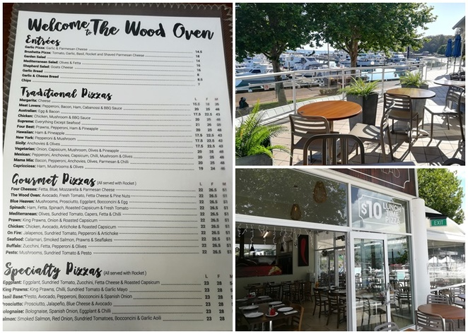the wood oven, nelson bay, NSW, pizza, family friendly, restaurant, restaurants in nelson bay, family friendly dining, pizza, d albora marinas, nelson bay foreshore, NSW, port stephens, kids, children,