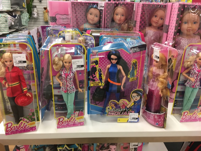 TK Maxx, discounted Barbie dolls, cheap toys, cheap Mattel toys, Mattel, Barbie, discounted fashion, Penrith