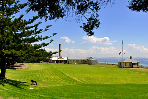 Victoria Point Nepean Mornington Peninsula Coast Coastal Fort Fortifications Quarantine Shipwreck Parks