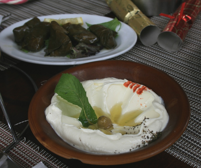 vine leaves Cedrus restaurant