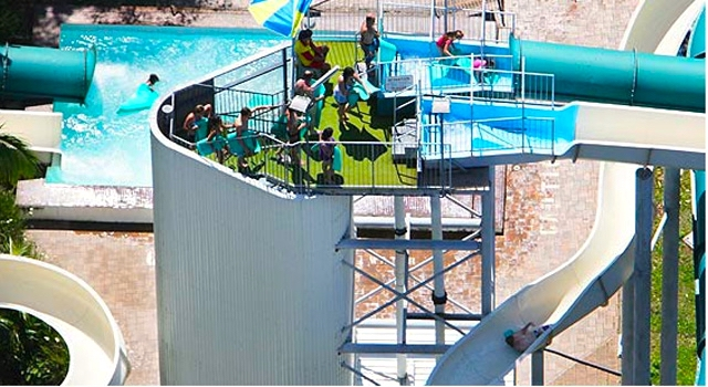 waterslide botany pool