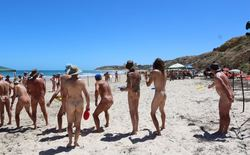 This brilliant Maslin beach nudist contest come