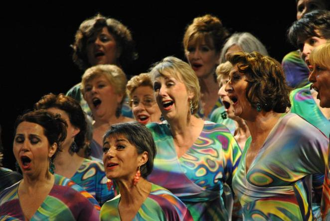 Women's singing groups on Sunshine Coast