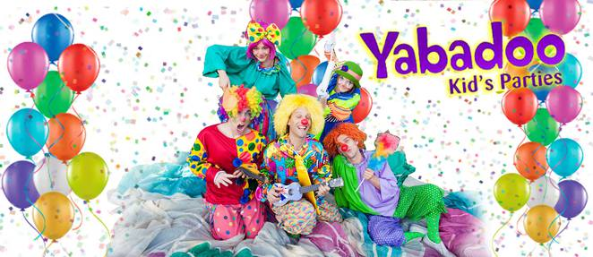 yabadoo kids parties, canberra, ACT, clows, cowboys, fairies, ACT,