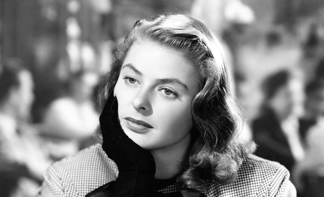 Image of Ingrid Bergman from Mercury Cinema Facebook page