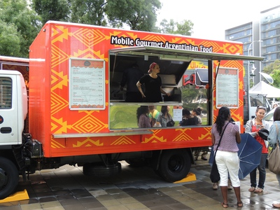 a fork on the road, food in adelaide, food truck, food trucks, taco truck, dining in adelaide, dining in new york, food cart