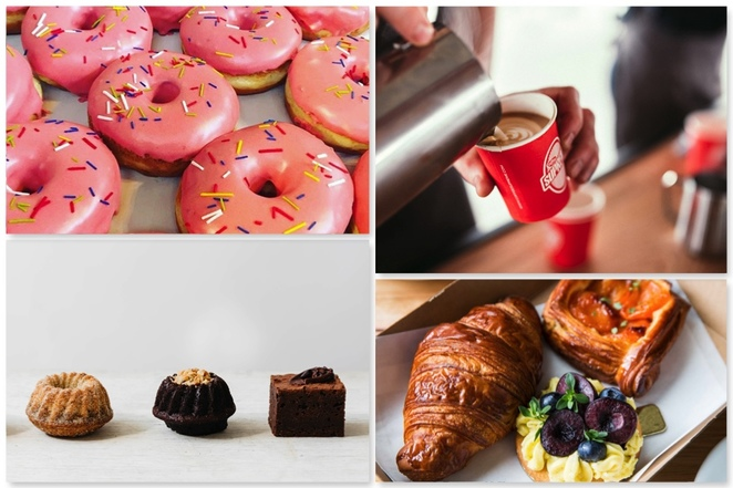 all day donuts coffee supreme q le baker mork sot cakes