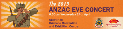 ANZAC Eve concert QSO