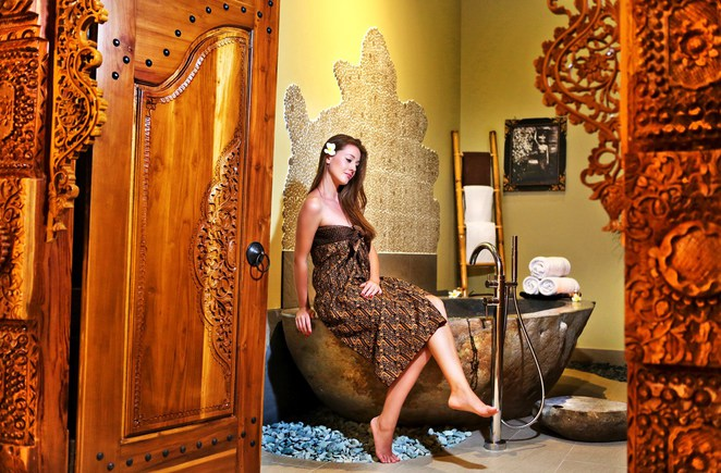 Traditional Indonesian spa spa