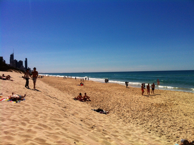 Beach at Broadbeach