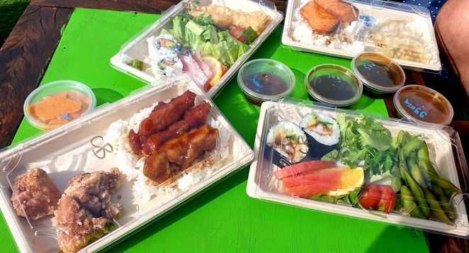 Bento, Japanese, lunch, takeaway, Newcastle, seafood, chicken