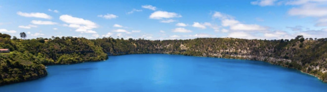 Blue Lake, Mount Gambier, Tourist Attraction