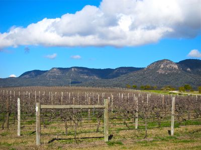 Brokenback Mountain range, Pokolbin, Hunter Valley