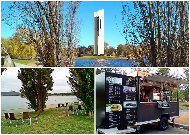 burley grind, cafes with views, canberra, ACT, lake burley griffin, cafes on the water, overlooking lake burley griffin,