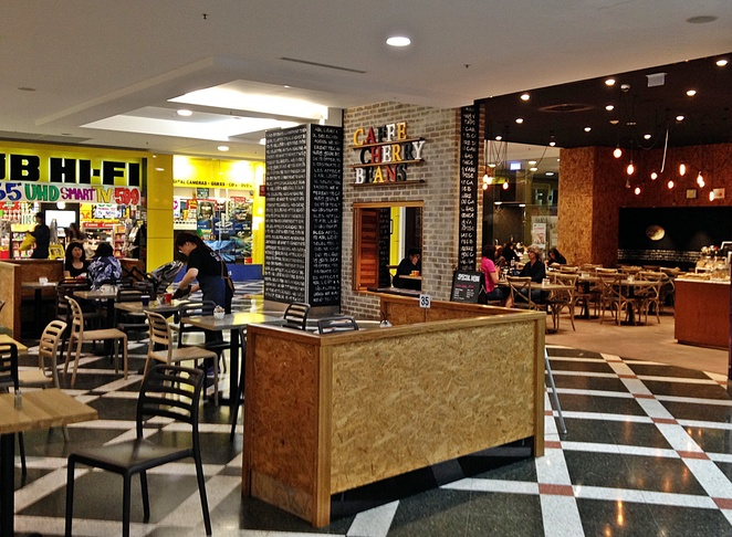 cafe cherry beans, cafes, breakfast, lunch, coffee, woden, westfield shopping centre, ACT, canberra cafes