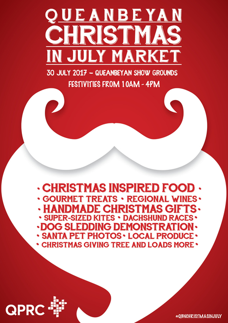 christmas in july markets, queanbeyan, canberra, NSW, ACT, markets stalls, christmas markets, 2017,