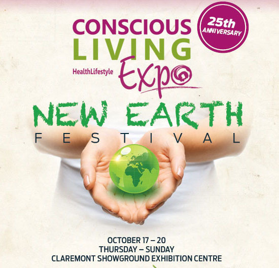 Conscious living expo, 17-20 october, claremont show grounds, conscious living,