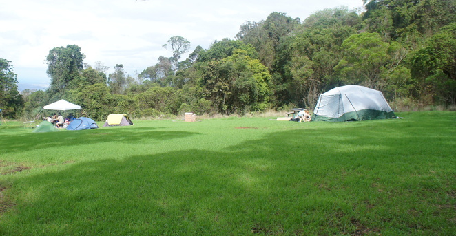 A good campsite will give you plenty of space to spread out