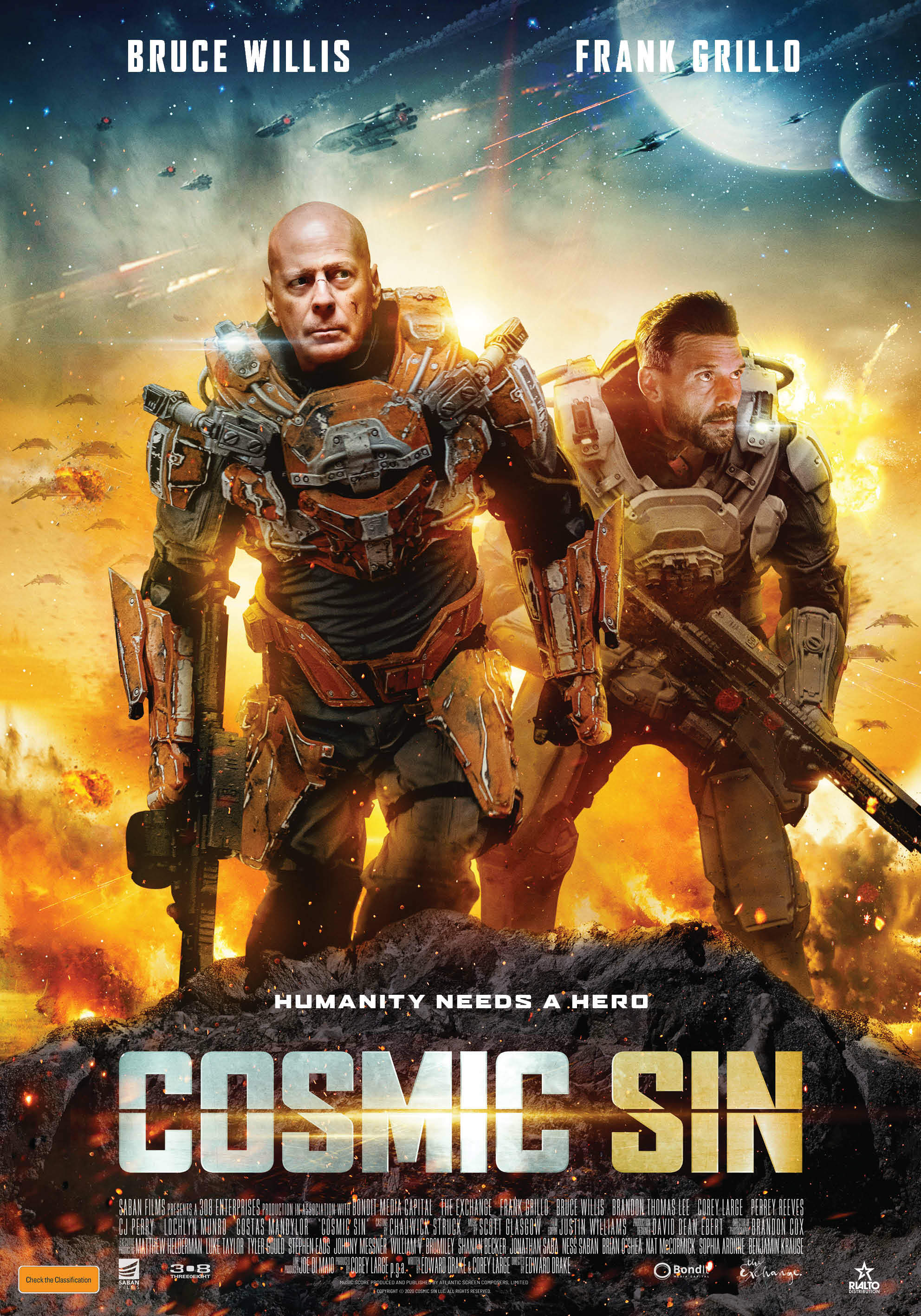 WIN a Double Pass to COSMIC SIN - In Cinemas March 11 - Adelaide