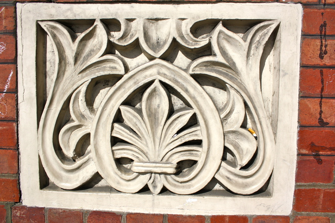 Detail from the exterior of Gawler Chambers