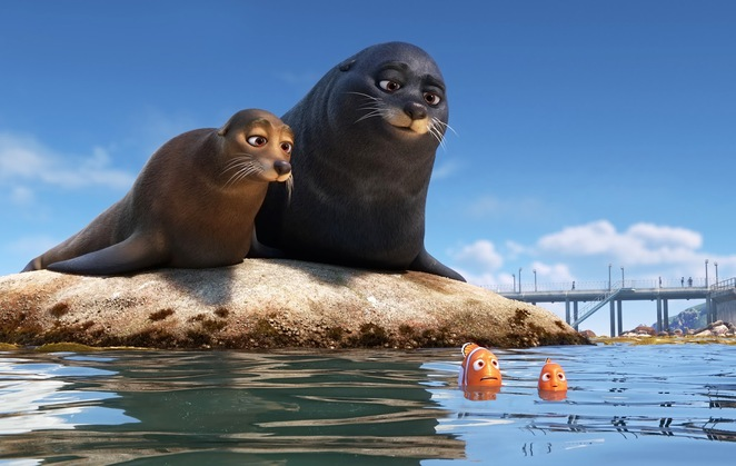Disney Pixar's Finding Dory - Fluke and Rudder