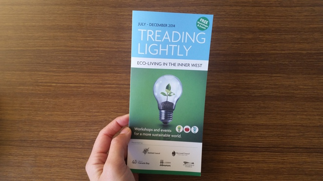 eco-living, tread lightly, inner west, free events, free workshops, free