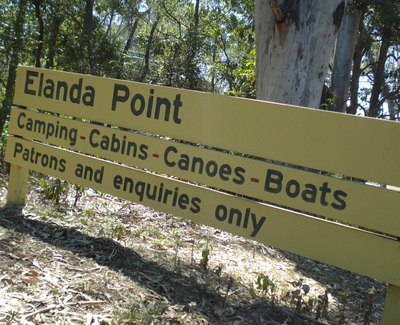 elanda point camping ground, cooloola, great sandy national park, photo by michelle macfarlane