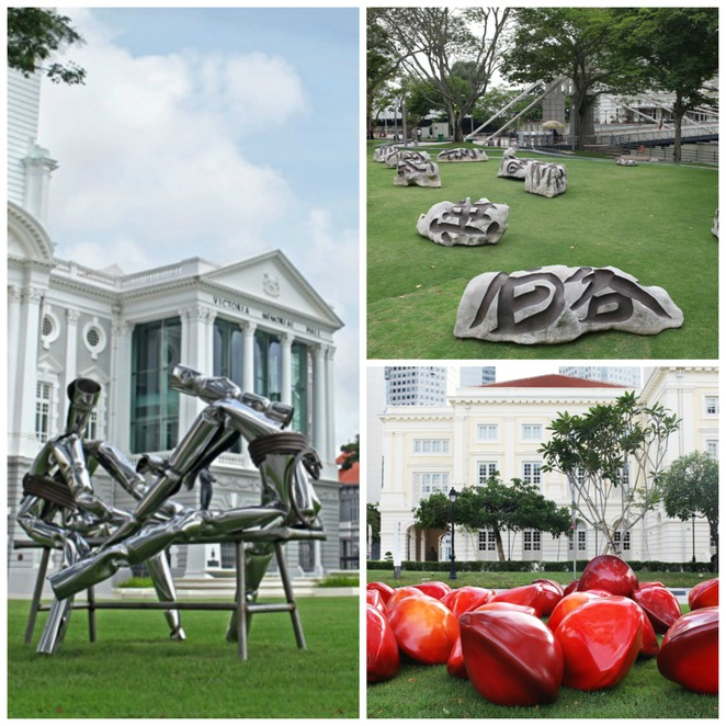 envision, artwork, imprecation, city hall, marina bay, ACM, Fullerton hotel, Clifford pier, art appreciation