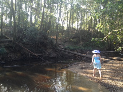 Exploring Six Mile Creek